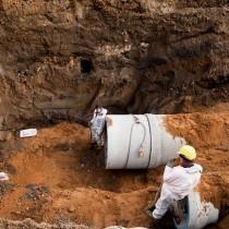 Werkzaamheden voor aanleg A2-tunnel 27
